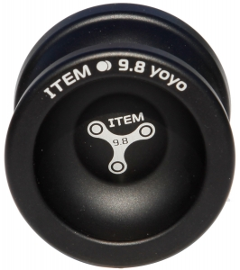 "Yo-Yo ""9,8"" Item Black"