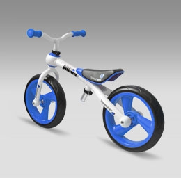 Беговел JD BUG Training Bike blue синийTC-09A (велобег, велокат)